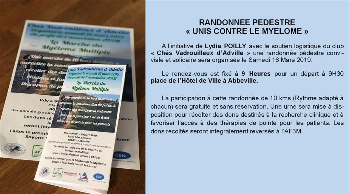Marche Myelome